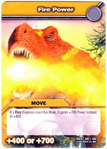 Dinosaur King TCG Single Card Common DKCG-092 Fire Power
