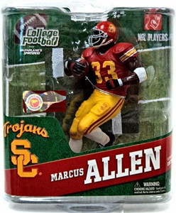 McFarlane Toys NCAA COLLEGE Football Sports Picks Series 4 Action Figure Marcus Allen (USC Trojans)