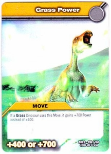 Dinosaur King TCG Single Card Common DKCG-096 Grass Power