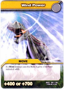 Dinosaur King TCG Single Card Common DKCG-097 Wind Power
