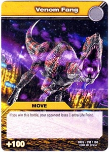 Dinosaur King TCG Single Card Common DKCG-098 Venom Fang