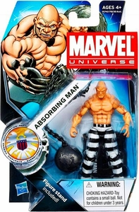 Marvel Universe 3 3/4 Inch Series 16 Action Figure #24 Absorbing Man [Striped Pants Variant]