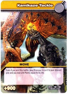 Dinosaur King TCG Single Card Common DKCG-100 Kamikaze Tackle
