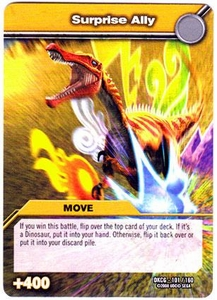 Dinosaur King TCG Single Card Common DKCG-101 Surprise Ally