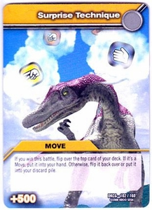 Dinosaur King TCG Single Card Common DKCG-102 Surprise Technique