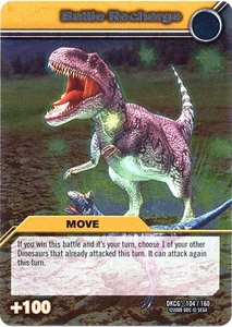 Dinosaur King TCG Single Card Silver DKCG-104 Battle Recharge