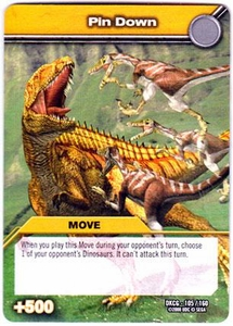 Dinosaur King TCG Single Card Common DKCG-105 Pin Down
