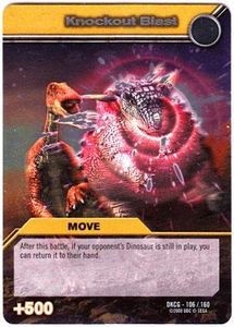 Dinosaur King TCG Single Card Silver DKCG-106 Knockout Blast