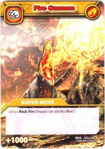 Dinosaur King TCG Single Card Common DKCG-107 Fire Cannon