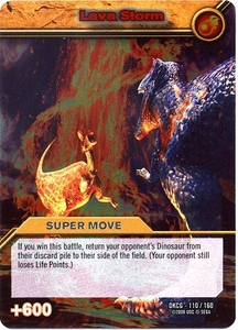 Dinosaur King TCG Single Card Silver DKCG-110 Lava Storm