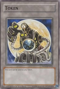 YuGiOh Promo Token Cards TKN3-EN003 Arcana Force Moon Token