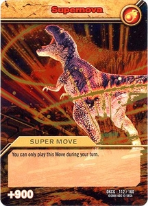 Dinosaur King TCG Single Card Gold DKCG-112 Supernova