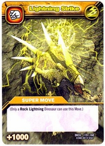 Dinosaur King TCG Single Card Common DKCG-119 Lightning Strike