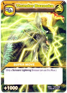 Dinosaur King TCG Single Card Common DKCG-120 Thunder Bazooka