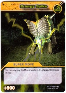 Dinosaur King TCG Single Card Silver DKCG-122 Energy Spike