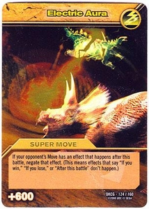 Dinosaur King TCG Single Card Gold DKCG-124 Electric Aura