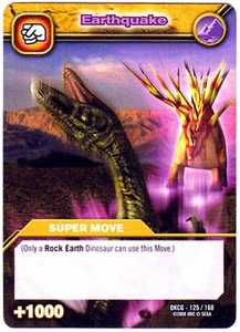 Dinosaur King TCG Single Card Common DKCG-125 Earthquake