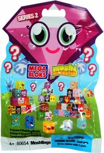 Moshi Monsters Mega Bloks #80654 Series 2 Mystery Pack [6 Random Moshling Blocks]