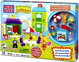 Moshi Monsters Mega Bloks Set #80631 Ooh La Lane BLOWOUT SALE!