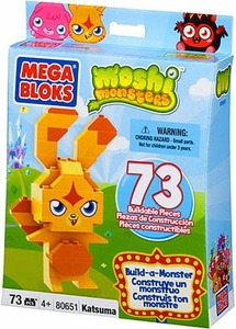 Moshi Monsters Mega Bloks Build-a-Monster Set #80651 Katsuma BLOWOUT SALE!