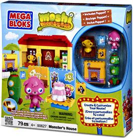 Moshi Monsters Mega Bloks Set #80627 Monster's House