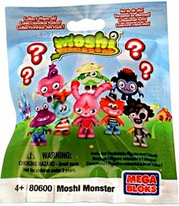 Moshi Monsters Mega Bloks #80600 Series 1 Mystery Pack [1 RANDOM Mini Figure] BLOWOUT SALE!