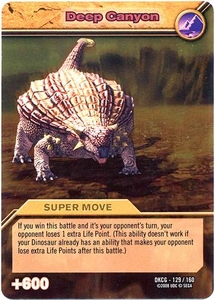 Dinosaur King TCG Single Card Gold DKCG-129 Deep Canyon