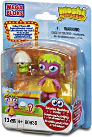 Moshi Monsters Mega Bloks Set #80636 Moshling Zoo and Horrods Shop BLOWOUT SALE!