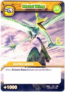 Dinosaur King TCG Single Card Common DKCG-132 Metal Wing