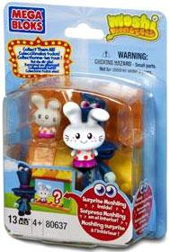 Moshi Monsters Mega Bloks Set #80637 Moshling Zoo and Dr. Strangeglove