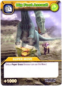 Dinosaur King TCG Single Card Common DKCG-133 Big Foot Assault
