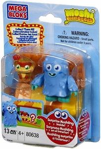 Moshi Monsters Mega Bloks Set #80638 Moshlings Zoo and Furi BLOWOUT SALE!