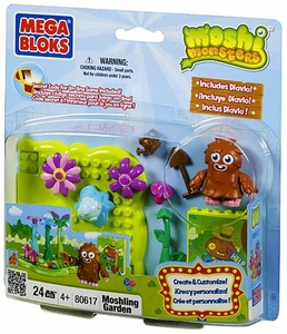 Moshi Monsters Mega Bloks Set #80617 Moshling Garden BLOWOUT SALE!