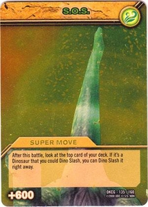 Dinosaur King TCG Single Card Gold DKCG-135 S.O.S.
