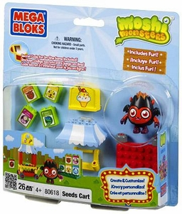 Moshi Monsters Mega Bloks Set #80618 Seed Cart BLOWOUT SALE!