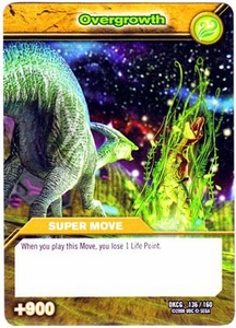 Dinosaur King TCG Single Card Common DKCG-136 Overgrowth