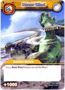 Dinosaur King TCG Single Card Common DKCG-137 Razor Wind