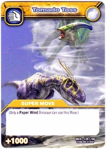 Dinosaur King TCG Single Card Common DKCG-139 Tornado Toss