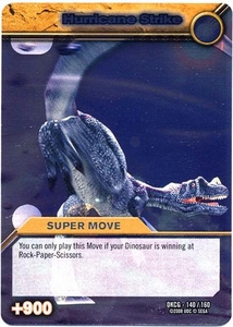 Dinosaur King TCG Single Card Silver DKCG-140 Hurricane Strike