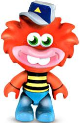 Moshi Monsters Mega Bloks Mini Figure Dewy