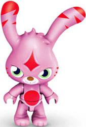 Moshi Monsters Mega Bloks Mini Figure Katsuma [Pink]