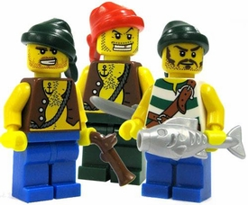 LEGO Pirate LOOSE Mini Figure Pirate Crewmember [Random Parts!]