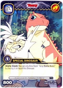 Dinosaur King TCG Single Card Common DKCG-150 Terry