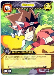 Dinosaur King TCG Single Card Common DKCG-152 Chomp