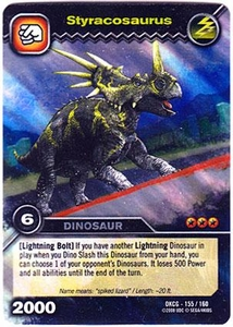 Dinosaur King TCG Single Card Colossal Rare DKCG-155 Styracosaurus
