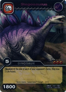 Dinosaur King TCG Single Card Colossal Rare DKCG-157 Stegosaurus