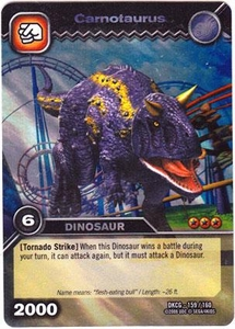 Dinosaur King TCG Single Card Colossal Rare DKCG-159 Carnotaurus