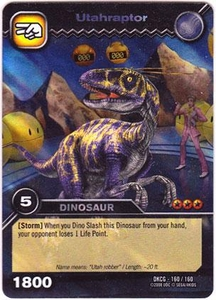 Dinosaur King TCG Single Card Colossal Rare DKCG-160 Utahraptor