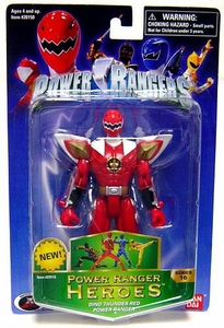 Power Rangers Heroes Dino Thunder Series 16 Action Figure Red Ranger Damaged Package, MINT Contents!