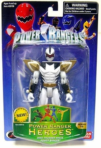 Power Rangers Heroes Dino Thunder Series 16 Action Figure White Ranger